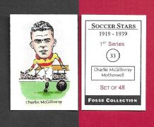 Motherwell Charlie McGillvray 33 (FC) (R)